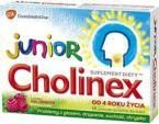 Cholinex Junior 16 pastylek do ssania