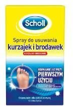 SCHOLL Spray do usuw. kurzajek i brodawek