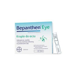 BEPANTHEN EYE krople do oczu 20szt. po 0,5ml